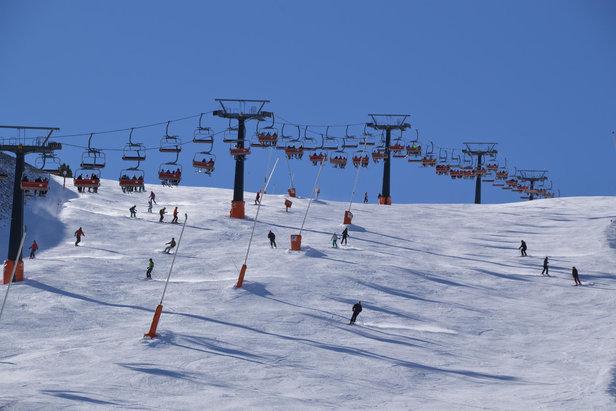 Sur les pistes de ski de Cerler - ©Aramon