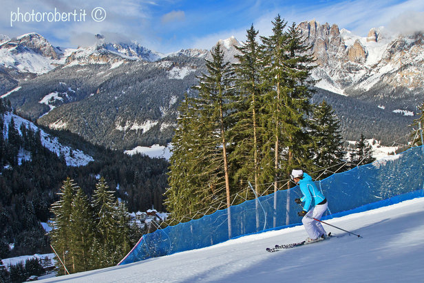 Le migliori 10 piste della Val di Fassa - 10) Skiarea Buffaure Pista Vulcano - ©Val di Fassa / R. Bernard