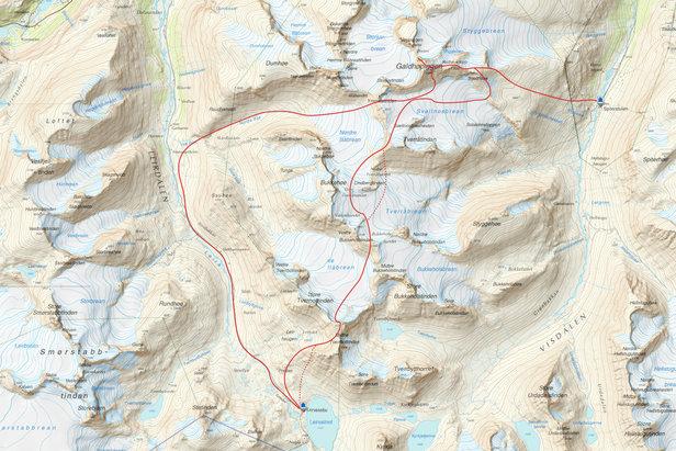 Dag 4 - Jotunheimen Haute Route