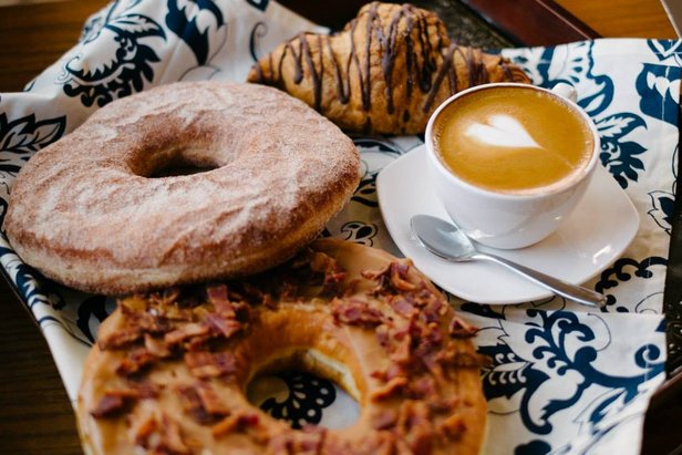 Giant doughuts from Northside Coffee & Kitchen. - ©Northside Coffee & Kitchen