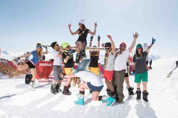 Pasqua e 25 Aprile sulla neve in montagna! - ©Roby trab - Carosello 300 Ski Area Livigno Facebook