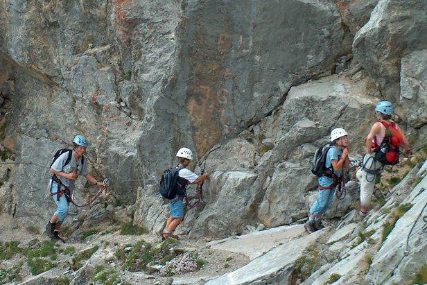 Klettern in Château-d'Oex