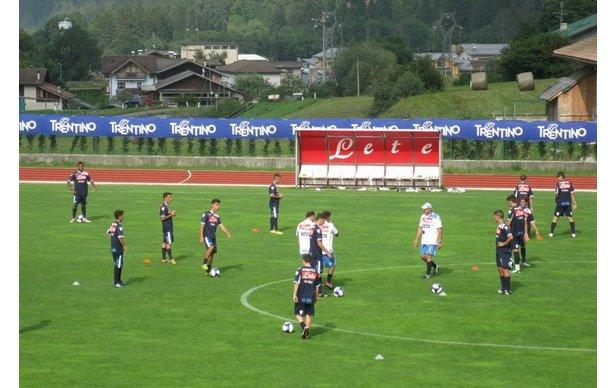 Ritiri estivi di Serie A in Trentino