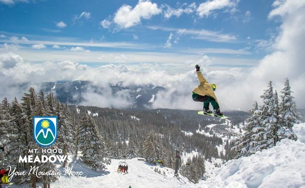 Mt. Hood Meadows - Your Mountain Home - ©Mt. Hood Meadows gives away Unlimited Season Pass.
