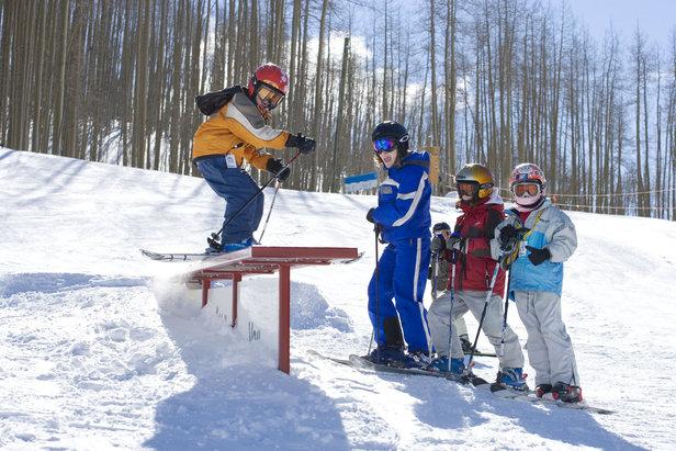 Vail CO terrain park skier Chad Schmidt