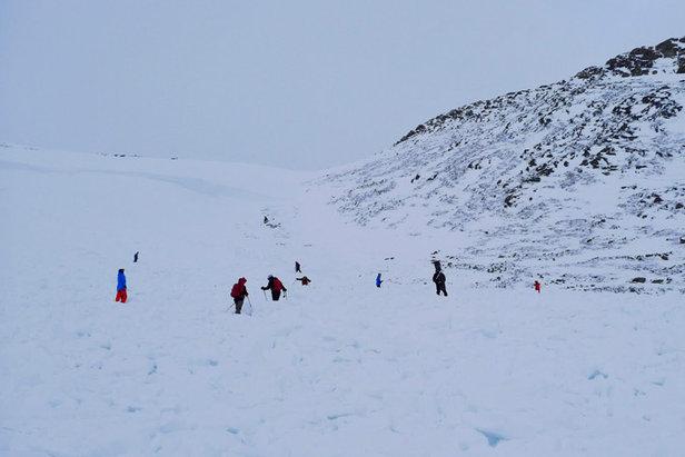 Hemsedal - Snøskred Svarthetta Bre og Fjell Foto: Halvor Dannevig 677px