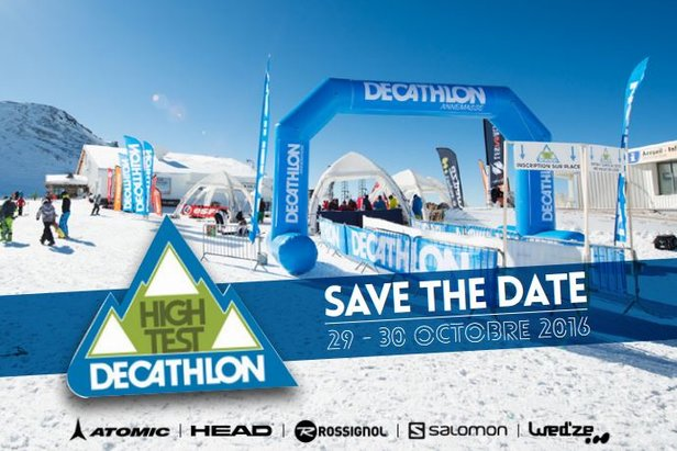 2nde édition du High test Decathlon (fin octobre aux 2 Alpes)