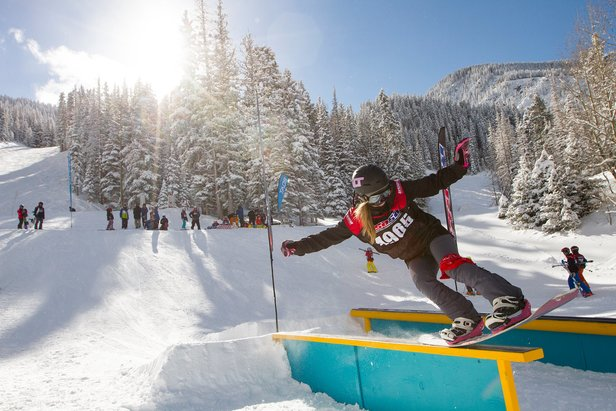 Rail Jam - ©Join us for the Tao of Taos Rail Jam, Saturday, January 14, 2017. The Rail Jam is a stop on the 2017 Southwest Freeride Series. The event will be held on mountain and discounted competitor lift tickets are available.