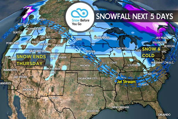 1.26 Snow Before You Go: Snow for the Northeast - ©Meteorologist Chris Tomer