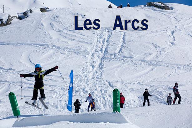 Les Arcs Snowy Dec 2011