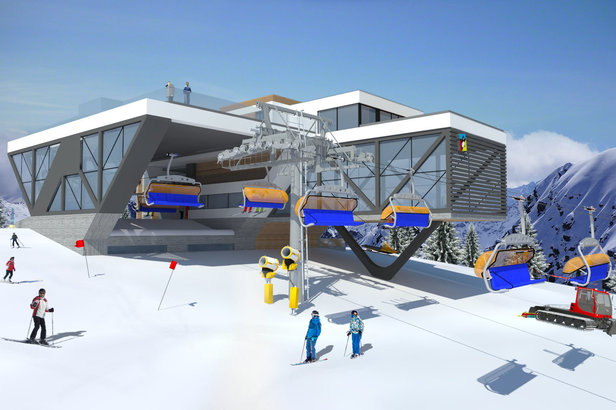 Nowości narciarskie sezonu: nowe wyciągi, nowe gondole, nowe trasy - ©Kasina Ski