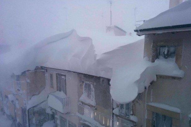Weerbericht: winter houdt aan - ©Vallefura Pescocostanzo Ski Facebook