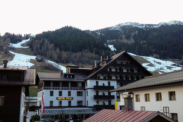 Widok z nowego Hotelu Andino w St. Anton am Arlberg - ©Tomasz Wojciechowski / Skiinfo