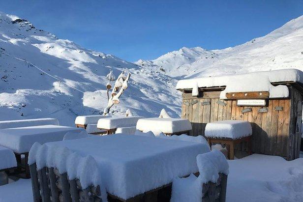 Een halve meter verse sneeuw voor de Alpen - ©Val Thorens/Facebook