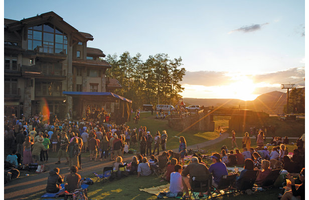 """Music on the Green"" to Kick Off Weekends in Mountain Village - ©Telluride Ski Resort"