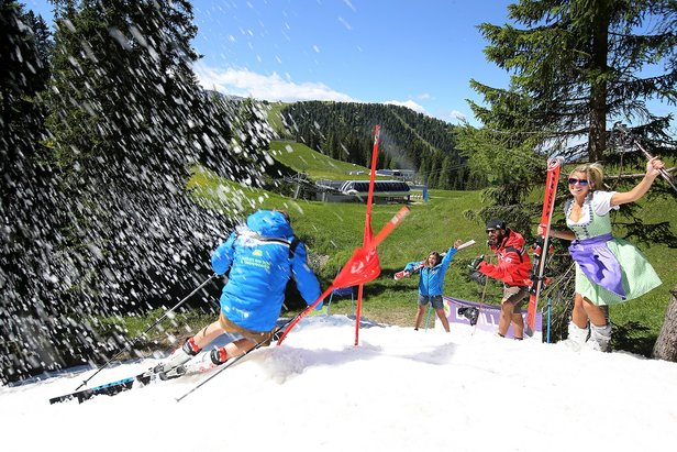 The Summer Ski Show in Alta Badia - ©Ph: Freddy Planinschek
