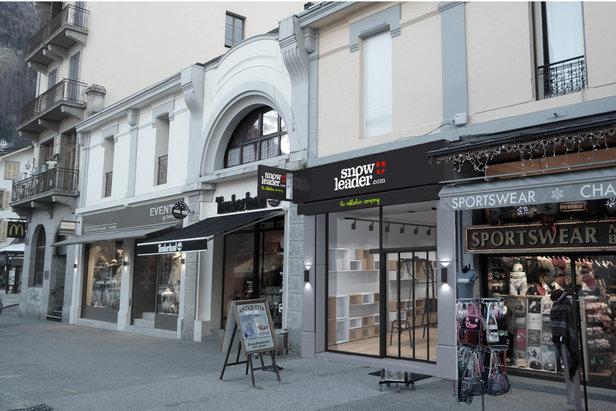 boutique Snowleader Chamonix - ©Snowleader