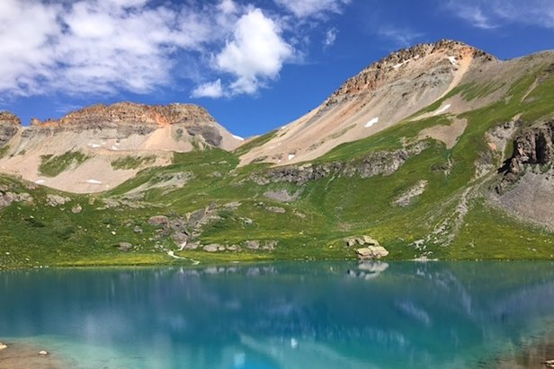 Located in the San Juan Mountains just west of Silverton, Ice Lake is perfect for dayhikers looking for a moderate out-and-back excursion.