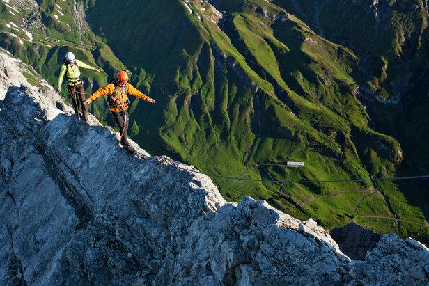Klettersteig St. Anton