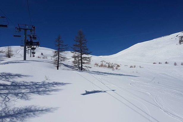 Weerbericht: de laatste winterprik? - ©Montgenevre/Facebook