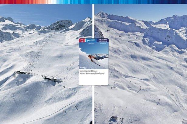 Od sezóny 2017/18 ponúknu Sölden a Obergurgl-Hochgurgl spoločný skipas. Lyžiari tak budú mať prístup k 254 km svahov! - ©FB Sölden / Soelden / Solden
