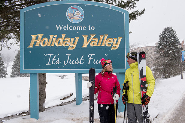 Welcome to Holiday Valley - ©Jane Eshbaugh, Holiday Valley Resort