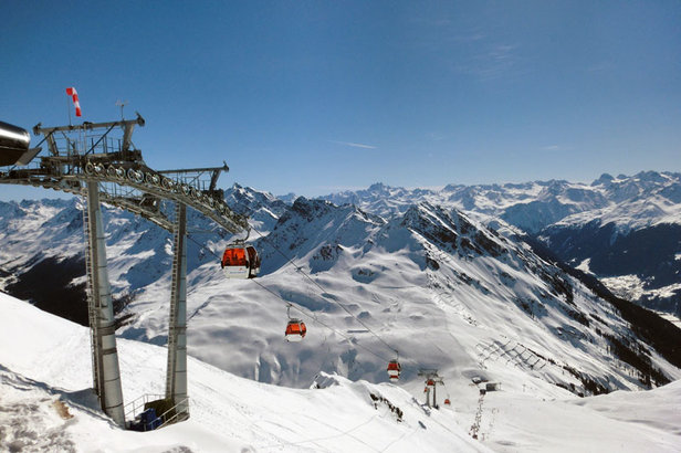 Skigebiet Silvretta Montafon - ©Markus Hahn