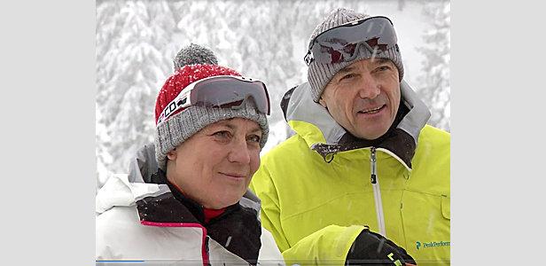Rosi Mittermaier und Christian Neureuther - ©ISPO