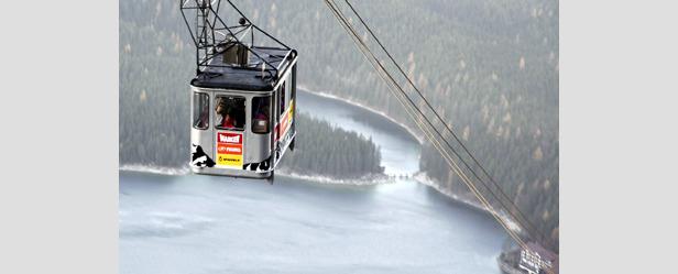 Gondel zur Zugspitze - ©Völkl