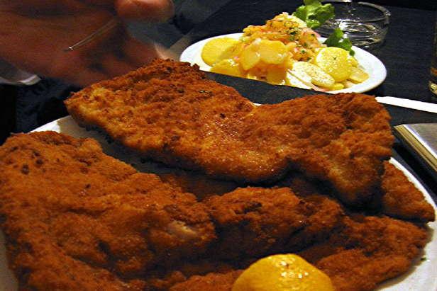 Een lekkere schnitzel - ©Wölk
