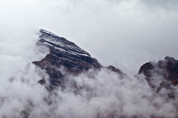 The first snowfall of the season fell atop the Maroon Bells in Aspen on Sept. 12, 2012. With ski season only 10 weeks away, more is in the forecast. Photo by Dave Amirault