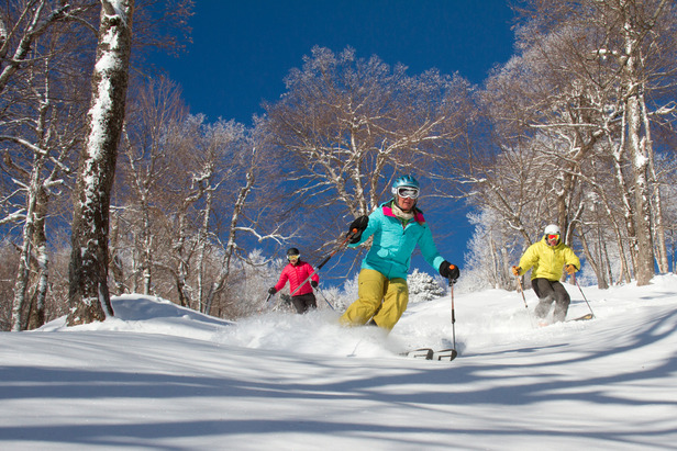 Christmas powder at Okemo Mountain Resort - ©Brian Moore
