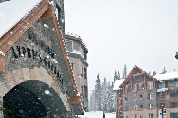 Snow in the village at Northstar. Photo:Northstar/Facebook