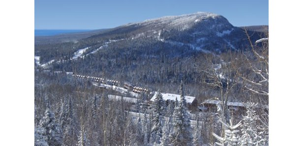 Lutsen Mountain is huge by Midwest standards, with 1,000 feet of vertical coated with 92 runs. - ©Lutsen Mountain