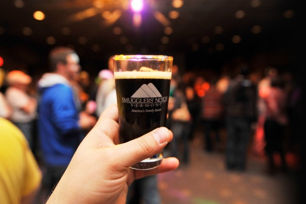 Commemorative pint glasses will help maintain the BrewFest memories if you don't. Photo: Aaron Rohde, Courtesy of Smugglers' Notch.