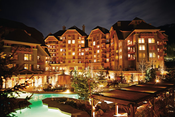 The Four Seasons in Whistler is one of Whistler Blackcombs finest places to stay. - ©Four Seasons Resort Whistler