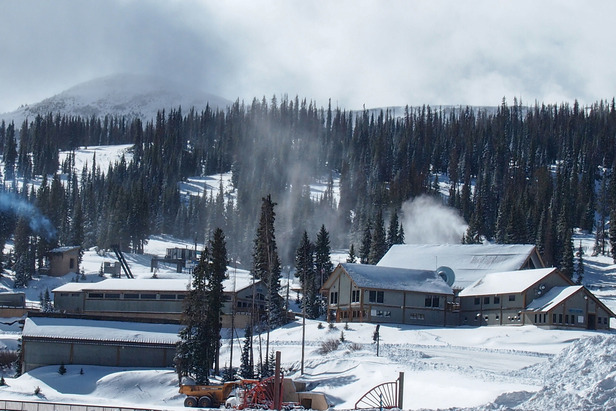 Final touches being made to Wolf Creek Ski Area before opening day  - ©Courtesy of Wolf Creek Ski Area