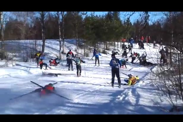 Vasaloppet - Birken på svensk. - ©video frame