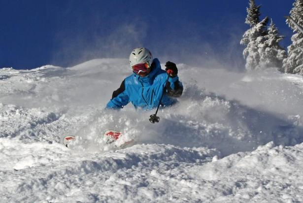 While last week brought the first powder day to many Vermont resorts, such as Stowe, the next week could end up being very different. - ©Stowe Mountain Resort