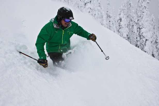 Whitefish powder - ©Whitefish Mountain Resort