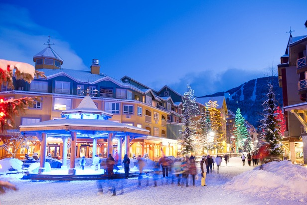 Downtown Whistler - ©Whistler Tourism