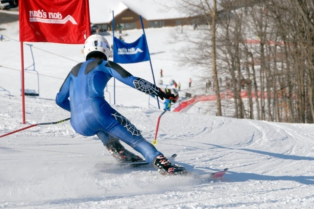 Ski racing at Nub's Nob. - ©Nub's Nob