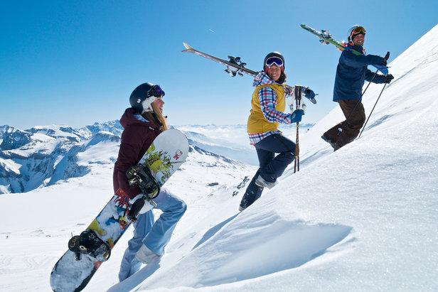 La neige est au rendez-vous, à vous le splaisirs de la glisse ! - ©Graubünden Ferien/Weisse Arena Gruppe