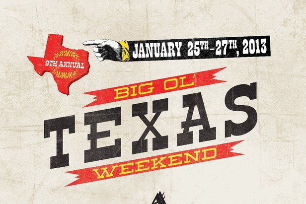 The 9th annual Big Ol' Texas Weekend returns, Jan. 25-27, 2013, for three days of lift ticket, lodging and restaurant deals at Angel Fire Resort.