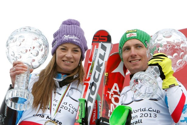 FIS Alpine World Cup Tour - Tina Maze e Marcel Hirscher