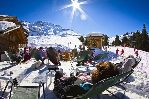 Un peu de ski, beaucoup de détente... C'est ça les joies du ski de printemps - ©Kab
