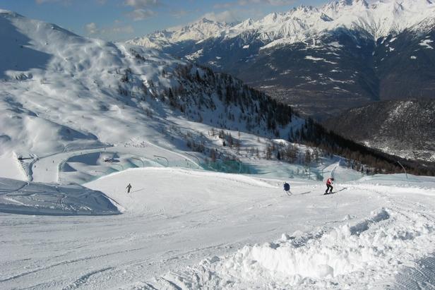 Aprica - La pista Dosso Paso, la più alta del comprensorio - ©A. Corbo