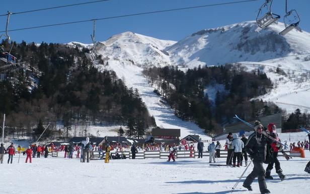 Excellentes conditions de ski au Mont Dore