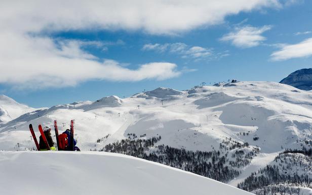 De la bonne neige, du soleil... Elle n'ets pas belle la vie vue comme ça ?