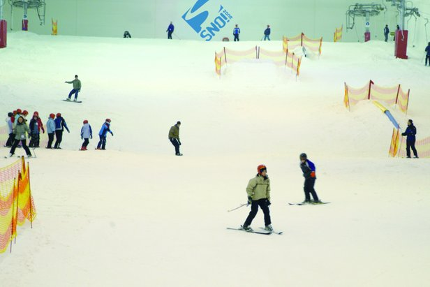 Snow Factor, Glasgow is the UK's largest indoor ski centre - ©Snow Factor